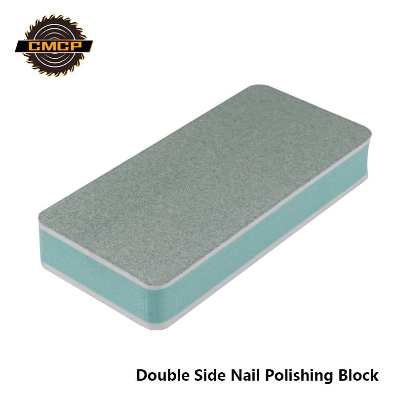 Free Shipping Nail Polishing Block Double Side Buffer Blcok For Nails File Edge Abrasive Tools Nail Art Tools Spoon Remover