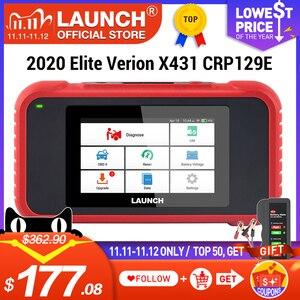 Image 1 - Launch X431 CRP129E OBD2 herramienta de diagnóstico para ENG/AT/ABS/SRS Multi idioma libre actualización CRP123E CRP123 Creader VIII CRP129X