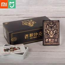 Xiaomi Playing Cards Poker Game Poker Set Plastic Magic Card Werewolf kills poker Magic Board Games 57*87mm Cards(China)