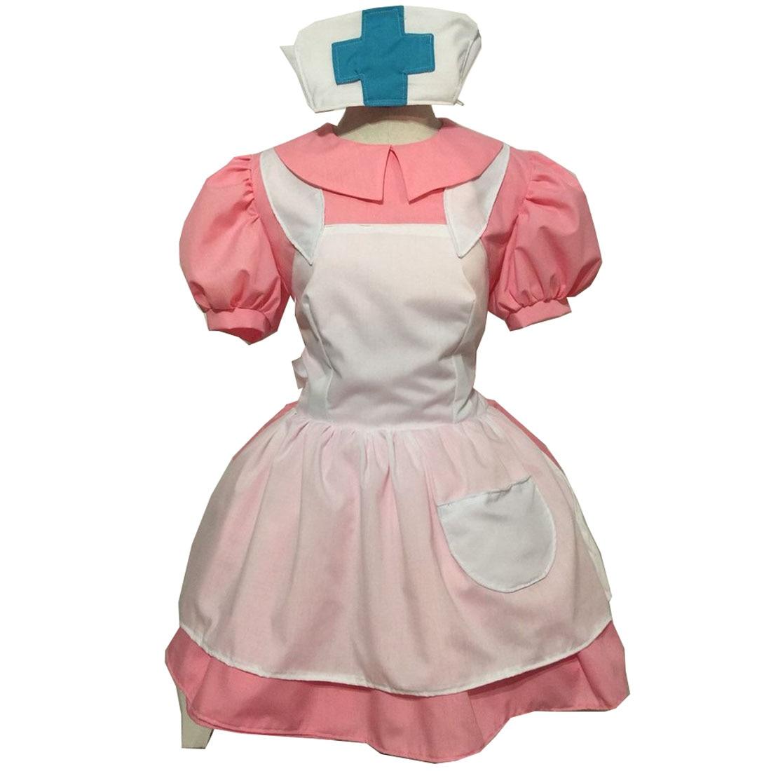 2019 Pocket Monsters Nurse Joy Cosplay Costume Dress Adult Women's Halloween Cosplay Clothing Custom Made