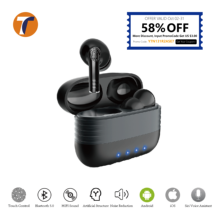 9D Stereo Deep Bass TWS Earbuds Touch Control Bluetooth Wireless Earphone for iPhone 12 Earphone,Redmi Note 9 Pro,Xiaomi POCO X3