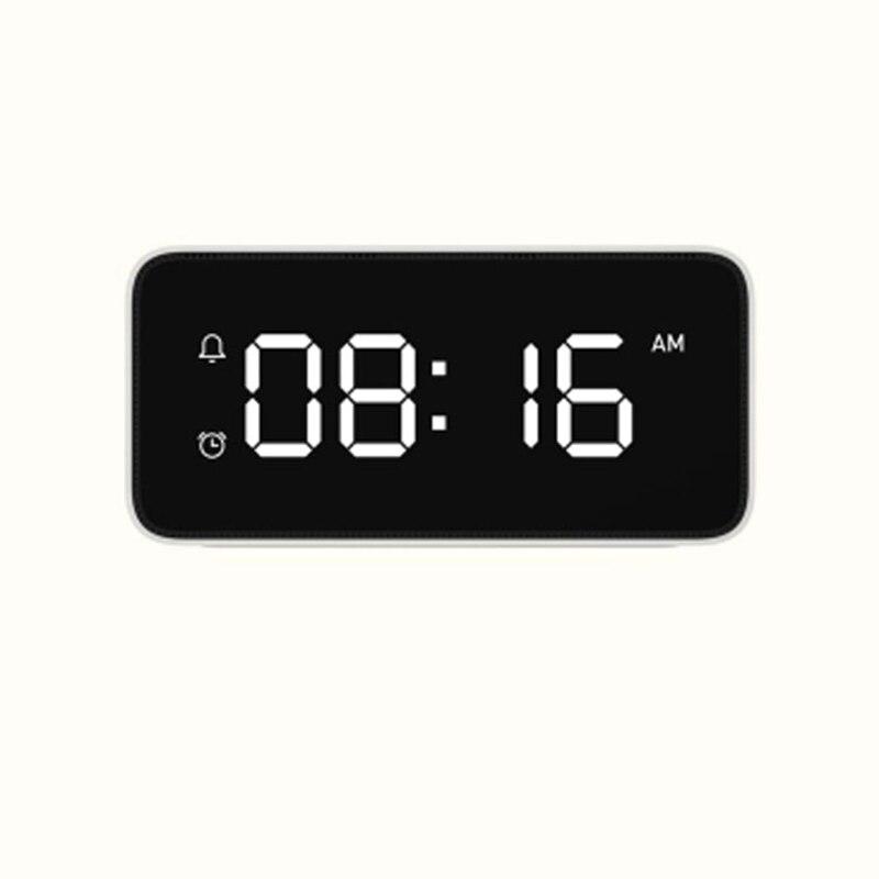 2018 neue Smart Stimme Broadcast Wecker ABS Tisch Dersktop Uhren Zeit Kalibrierung arbeit app - 5