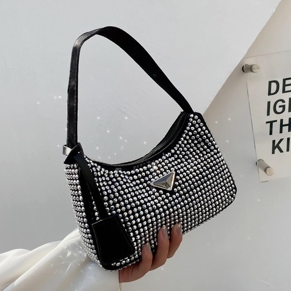 Diamant Platz Tote tasche 2021 Sommer Neue High-qualität PU Leder frauen Designer Handtasche Luxus marke Schulter tasche achselhöhle tasche