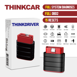 Thinkcar Thinkdriver OBD2 Car Scanner 15 Reset Automotive Full System Diagnostic Tool Read Clear Code Auto 3 VIN Free PK AP200