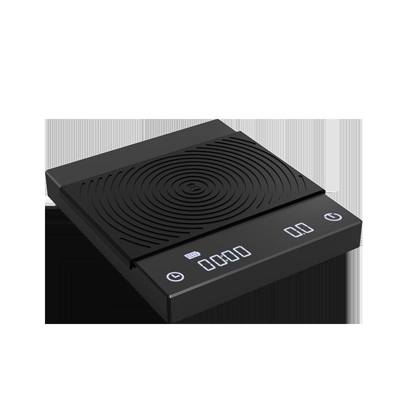 TIMEMORE שחור מראה בסיסי אלקטרוני בקנה מידה יד טפטוף אספרסו נטענת חכם קפה בקנה מידה עיתוי מטבח סולם LED 2kg