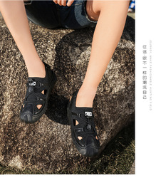 SD881X-Men's shoes summer 2020 new sandals fashion trend casual shoes men's beach shoes men's breathable tide hole shoes