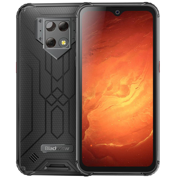 Перейти на Алиэкспресс и купить Смартфон Blackview BV9800 Pro NFC, мобильный телефон, 6 ГБ + 128 ГБ, Helio P70, Android 9,0, IP68 водонепроницаемый, 6580 мАч, прочный
