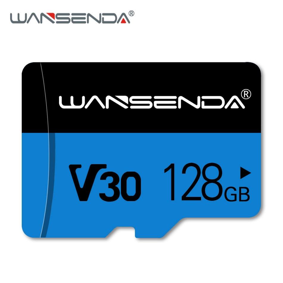 WANSENDA Memory Card Micro SD Card 16GB 32GB 64GB Class 10 Microsd TF Card 128GB Transflash 4K Card With Free Adapter