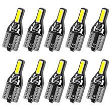 Aslent t10 w5w светодиодные лампы 168 194 лампочка для салона