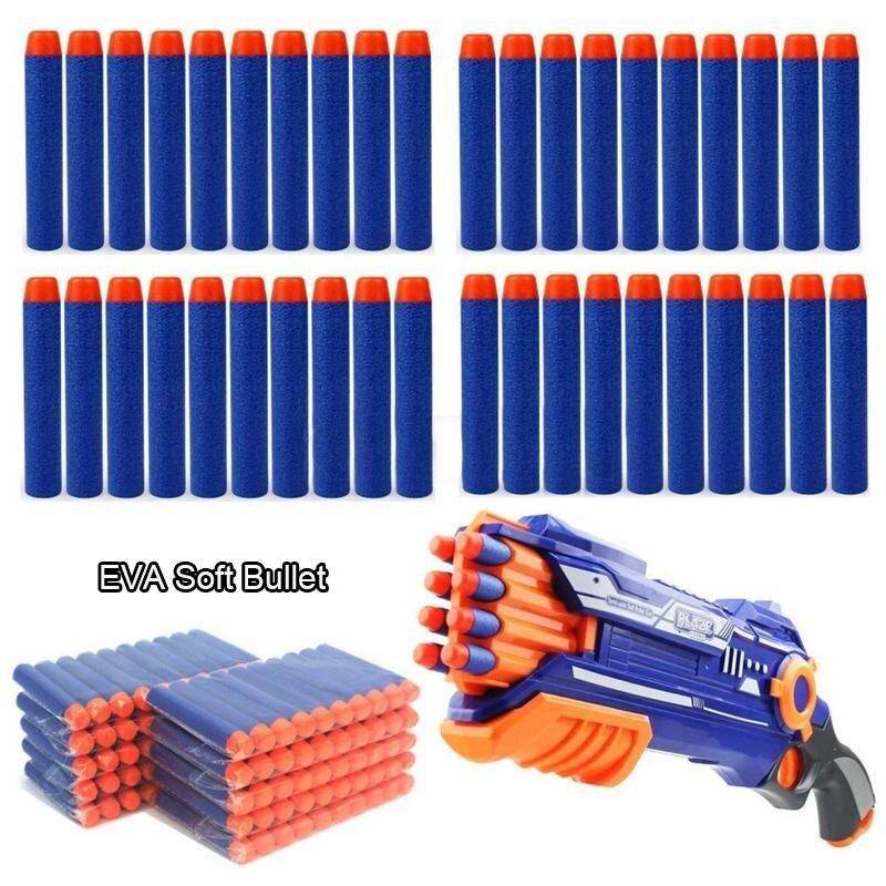 10-100Pcs Refill Darts Bullets Soft Mega Foam Sniper Guns Darts For Elite Series Blasters Target Toy Accessories