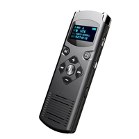 HD Digital PCM Voice Recorder Stereo Professional Activated Recording Noise Cancellation Dictaphone Support 28 Language