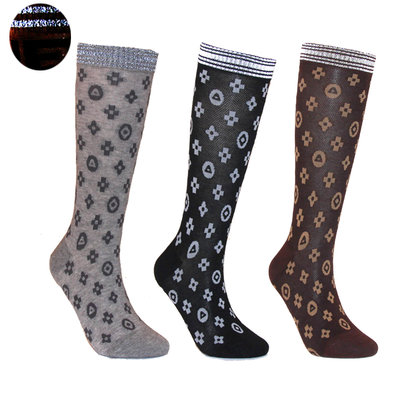 Ladies Night Glow Reminder Socks Mid Tube Reflective Socks Ladies Socks Socks Fashion Sport Srunning  Sexy Fashion Sexy