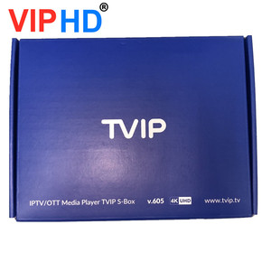 Image 3 - 2020 neue Tvip605 Tv Box Linux System Set Top Box 4K OTT 8GB Media Player Amlogic S905X Tvip S Box V.605 Tvip 605 Smart Tv Box