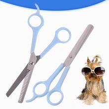 Professional Pet Thinning Scissor Cat Dog Animals Hair Cutting Scissors Puppy Barber Cutting Tool Pets Grooming Shears 9inch professional shark teeth fishing bone pet thinning hairdressing scissor pet grooming shear tesouras hairstyle tool