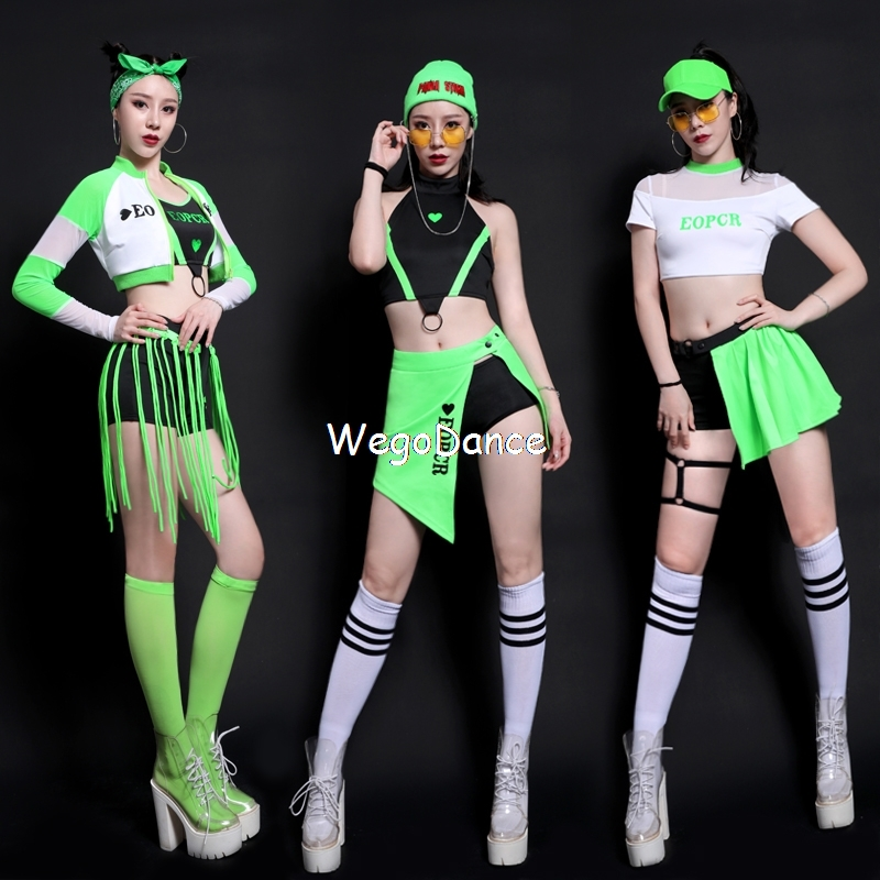 New Women Clothing Bar Ds Costumes Cheerleading Clothes Hip-hop Clothes Sexy Cheerleaders