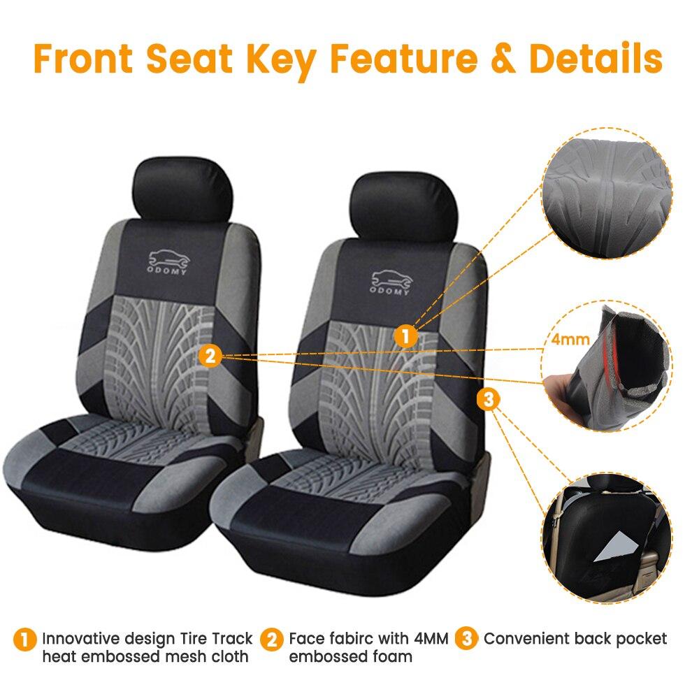FIAT DOBLO PREMIUM VAN SEAT COVERS PROTECTORS 100/% WATERPROOF BLACK