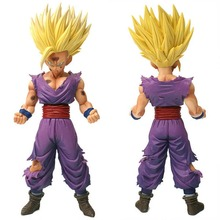 25cm Anime Dragon Ball Z Super Saiyan Son Gohan Action Figures Master Stars Piece Dragonball Figurine Collectible Model Toy B790 24cm dragon ball z super saiyan son gohan master stars piece new msp cartoon action figures dragonball collectible model toy