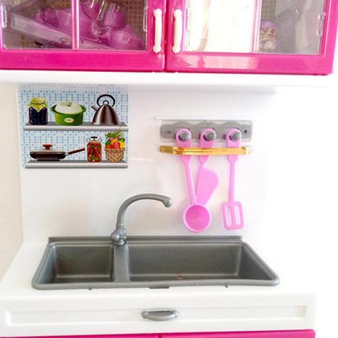 armarios de cozinha definir criancas fingir jogar