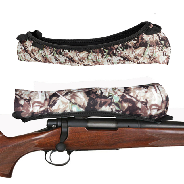 Scope Wrap Cover Gun Rifle Camouflage Tactical Accessories Hunting Shotgun Riflescope Protection Neoprene Scope Cases Sight Wrap 1