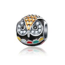 Diy colgante de plata de ley nuevos para hacer joyería de Navidad, accesorios sieraden charms verre pulsera ENM795