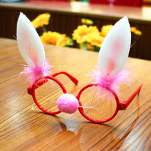 Funny Christmas Ornaments Glasses Frames Evening Party Toy Kids Xmas Gifts Decoration New Year Supplies