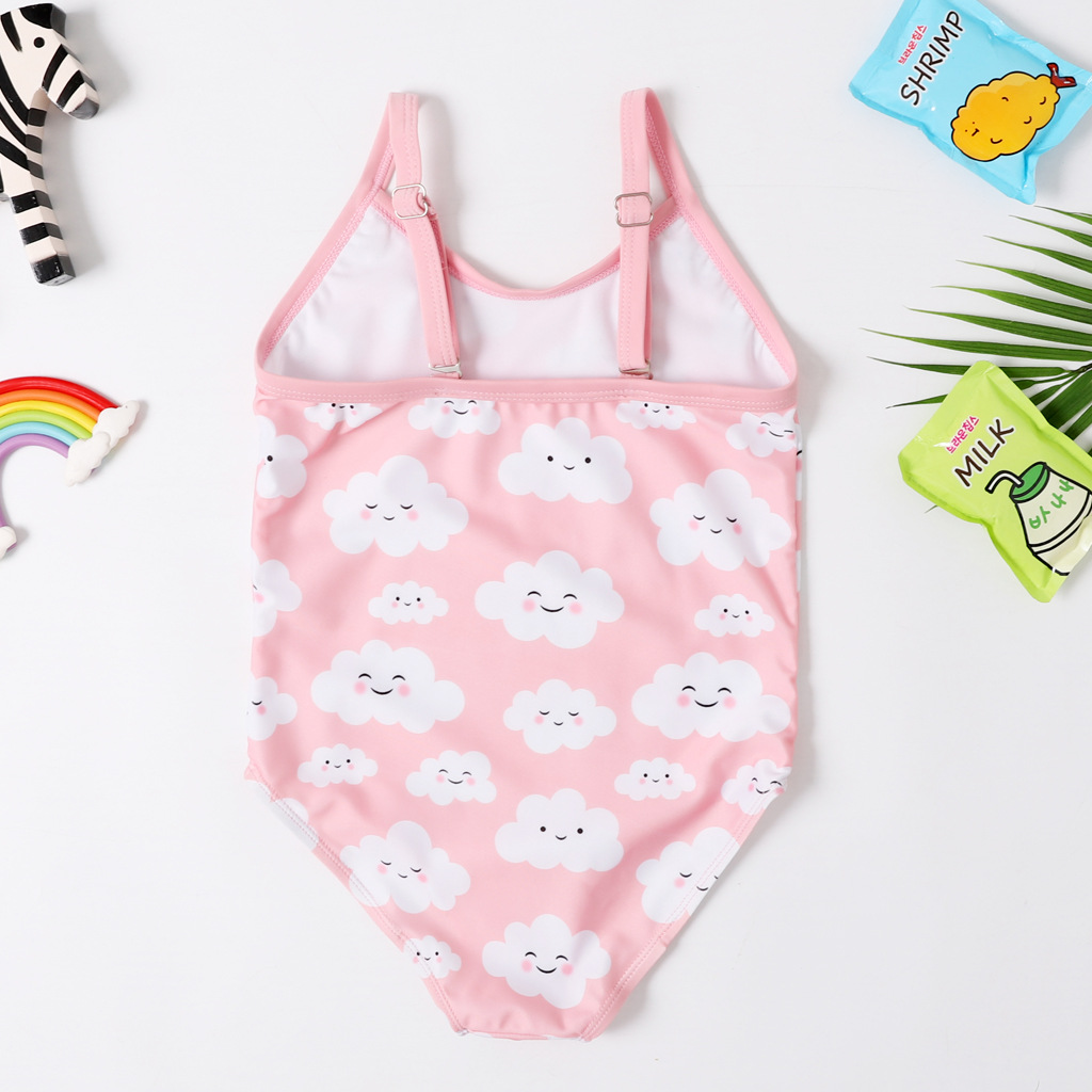 One-piece Swimsuit For Children Women's Sleeveless Briefs AliExpress Girls Swimwear CHILDREN'S Learning Tour Bathing Suit