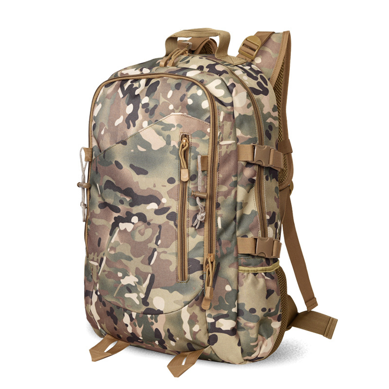 2018 New Style Backpack Outdoor Tactical Backpack Manufacturers Supply Multi-functional Large-Volume For Both Men And Women Bag