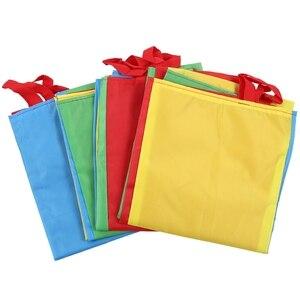 Мешок картошки гонки сумки (упаковка из 4) с тремя ногами гонки активного отдыха для семейных игр