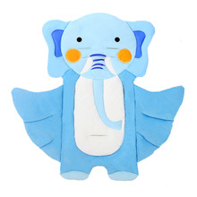 Cartoon Flying Elephant Baby Pram Stroller Seat Pad Cushion Thick Soft Pram Pushchairs Infant Dining Chair Seat Chair Mattress