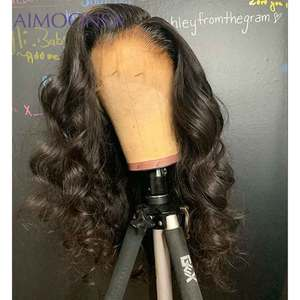 Image 4 - Body Wave 360 Lace Frontal Wig Pre Plucked With Baby Hair Full Lace Human Hair Wig 13x4 Lace Front Human Hair Wigs Remy 150%