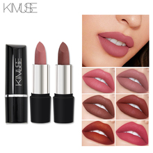 KIMUSE Matte Velvet Lipstick Easy To Wear Pigment Hot Nude Sexy Makeup Waterproof Smooth Lips Batom Luxury 10 Colors kimuse 12 colors matte lipsticks waterproof matte lipstick lip sticks cosmetic easy to wear lipstick matte batom