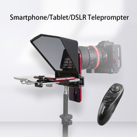 Bestview T2 Teleprompter 8'' 8 inch for iPad Smartphone Interview Teleprompter Video Camera Canon Nikon Sony Photo Studio DSLR