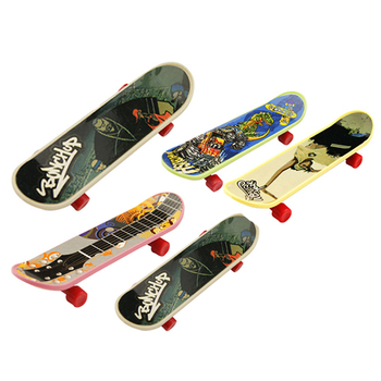 Alloy Mini Finger Skateboard Toy Professional Mini Fingerboards Finger Skateboard Children Kids Birthday Christmas Gifts kids professional finger skateboard educational kids gift mini plastic board toy children finger skateboard toy