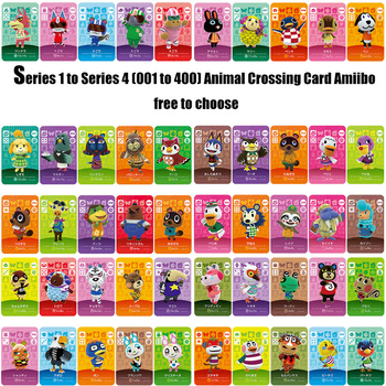 Series 1 to Series 4 (001 to 400) free to choose Amiibo locks nfc Card Work for NS Games series 4 301 to 350 animal crossing card amiibo cards work for switch ns 3ds games card animal crossing amiibo card new leaf