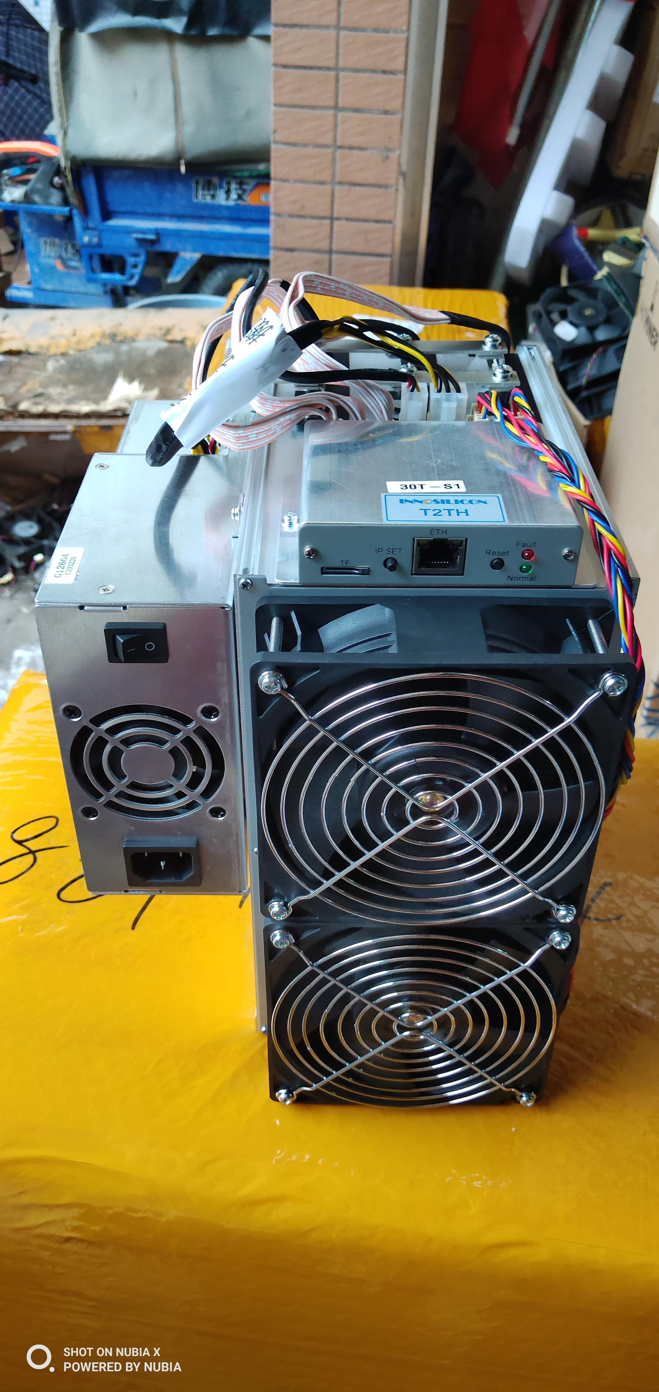 Nouveau Innosilicon T2T 37TH/s SHA256 Bitcoin BTC BCH Miner mieux que what sminer M3 M20S M21S Antminer S9 S17 T17 S17e T17e