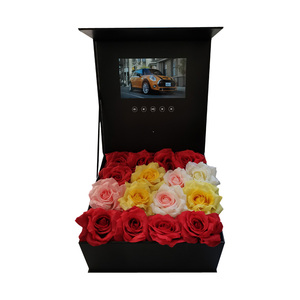 Image 3 - Caja de tapa dura de producción personalizada, folleto de vídeo, tarjeta de felicitación de vídeo Universal de 7 pulgadas, 2gb de visualización, caja de folletos para publicidad