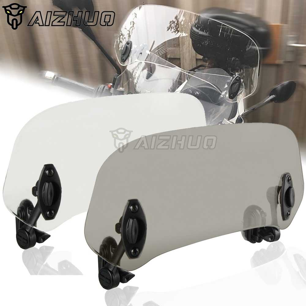 لهوندا XLV 600 650 700 TRANSALP NX 650 FMX 650 XRV650 دراجة نارية الرياح شاشة الزجاج الأمامي سبويلر عاكس الهواء