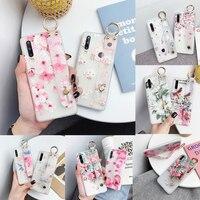 Funda de teléfono con diseño Floral 3D para móvil, funda suave con soporte para chicas para Huawei Nova 2i 3E 3i 4E 5 5i 5T 5Z 6 6SE P20 P30 P40 Pro Lite