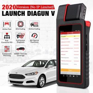Image 2 - LAUNCH X431 Diagun V OBD2 Auto diagnostic tool full systemCode Reader scanner OBDII OBD Scan tool Update Online pk MK808 CRP909E