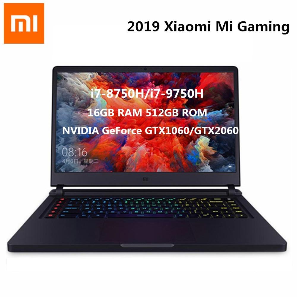 2019 Xiaomi Mi Gaming Laptop 15.6''  Intel Core I7-8750 Hexa Core 4.1GHz GTX 1060 16GB 512GB SSD NVIDIA GeForce GTX1060 Laptop