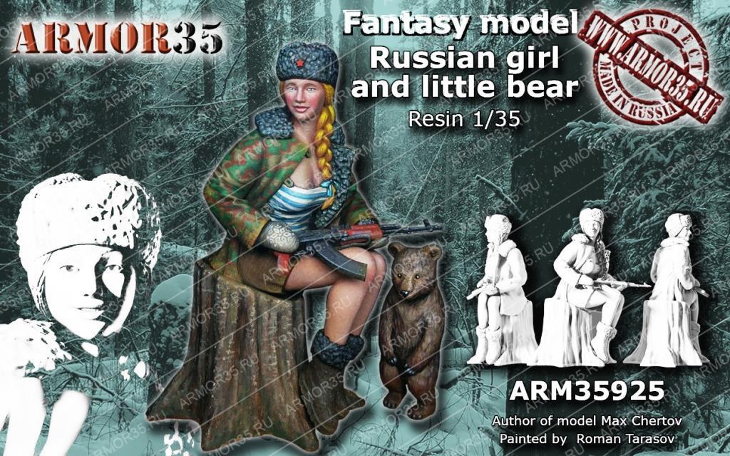 1:35  Russian Girl And Little Bear
