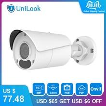 Uniview (Hikvision Compatibel) 8MP Bullet IP Camera PoE Onvif Home/Outdoor CCTV Security Surveillance Nachtzicht IPC UNB180W