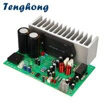 Tenghong STK401 เสียงเครื่องขยายเสียง HIFI 2.0 ช่อง 140W * 2 เครื่องขยายเสียงระบบเสียง AC24 28V Amplificador Board AMP