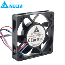 For Delta 5010 50MM 50x50x10MM Fan EFB0512HA For Cooler Master Two Ball Bearing Cooling fan DC12V 0.15A with 3pin 4pin PWM