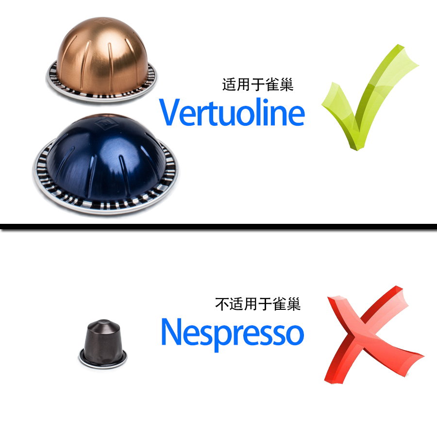 Многоразовый комплект уплотнений из алюминиевой фольги, совместимый с капсулами Nespresso Vertuoline 100 шт.
