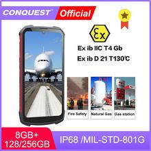 Conquest s16 atex взрывозащищенный телефон android Прочный ip68