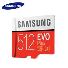 SAMSUNG – carte mémoire Micro SD, 32 go/64 go/256 go/128 go/512 go, SDHC/SDXC, classe 10, EVO +, UHS/TF