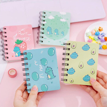 Fun Dinosaur Notebook Cactus Pattern Coil Binding Notepad Office Stationery And School Supplies 1PCS/80 Pages
