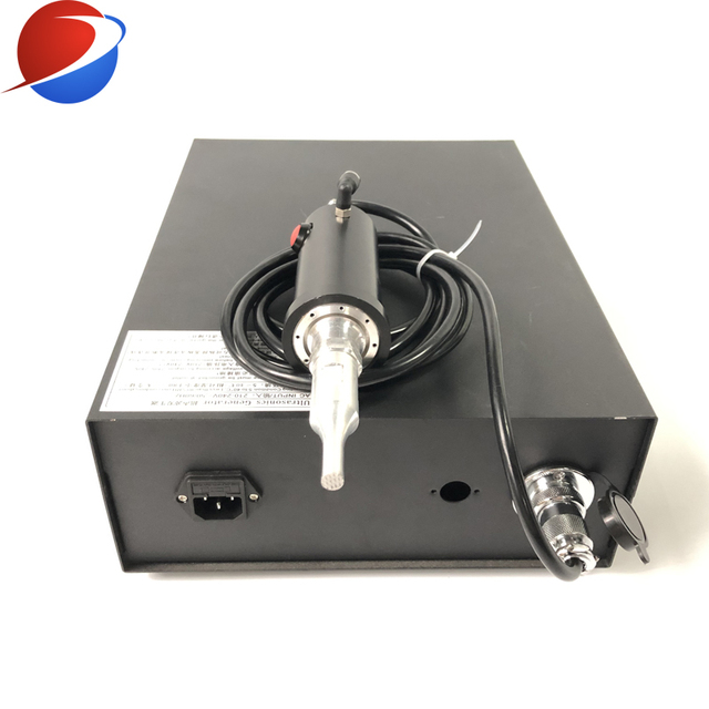 FPM Ultrasonic Non Woven Fish Cup N95 Mask Ear Spot Welding Machine 28k Generator And Converter With Horn5K 800W 2