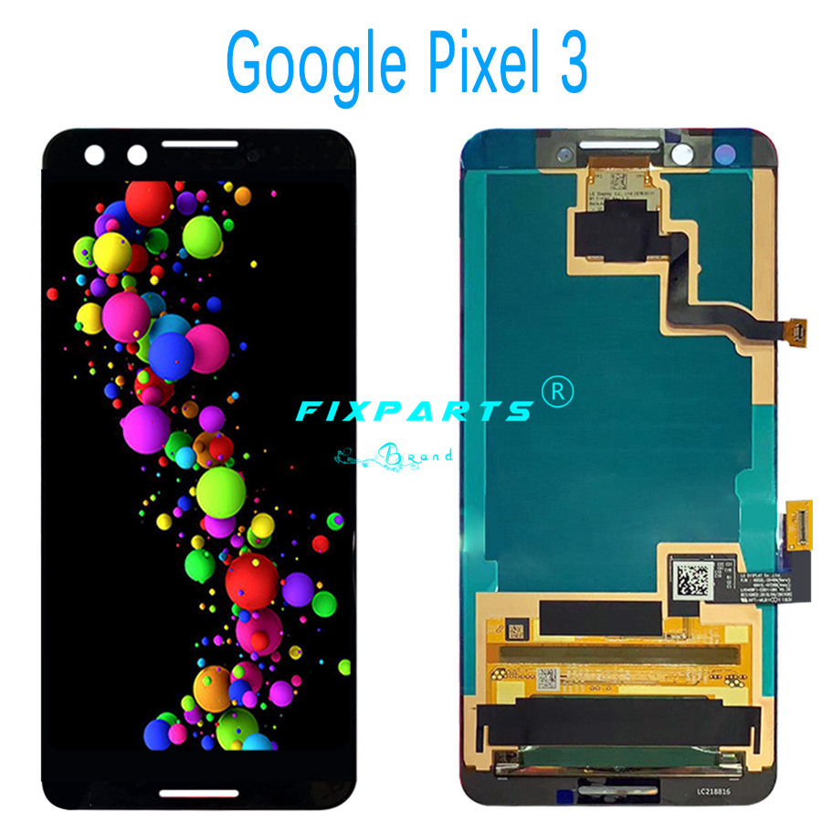 Google Pixel 2 2XL 3 3XL LCD Display Touch Screen Digitizer Assembly Replacement